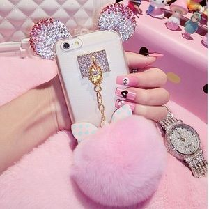 Sparkly Pink, IPhone 7/8 Plus Phone Case